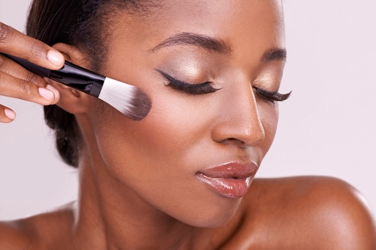 Too-much-skin-tone-for-black-skin-bride